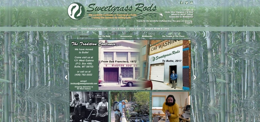 Sweetgrass Rods