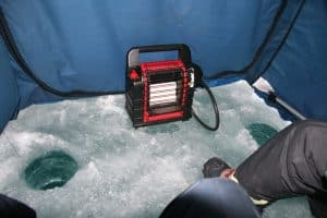 ice fishing heater