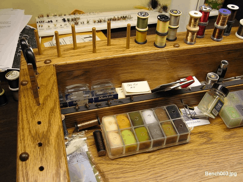 Fly Tying Bench Plans Step By
