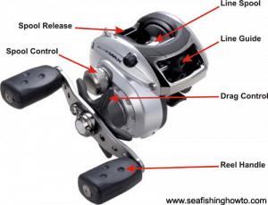 feeding line to baitcasting spool