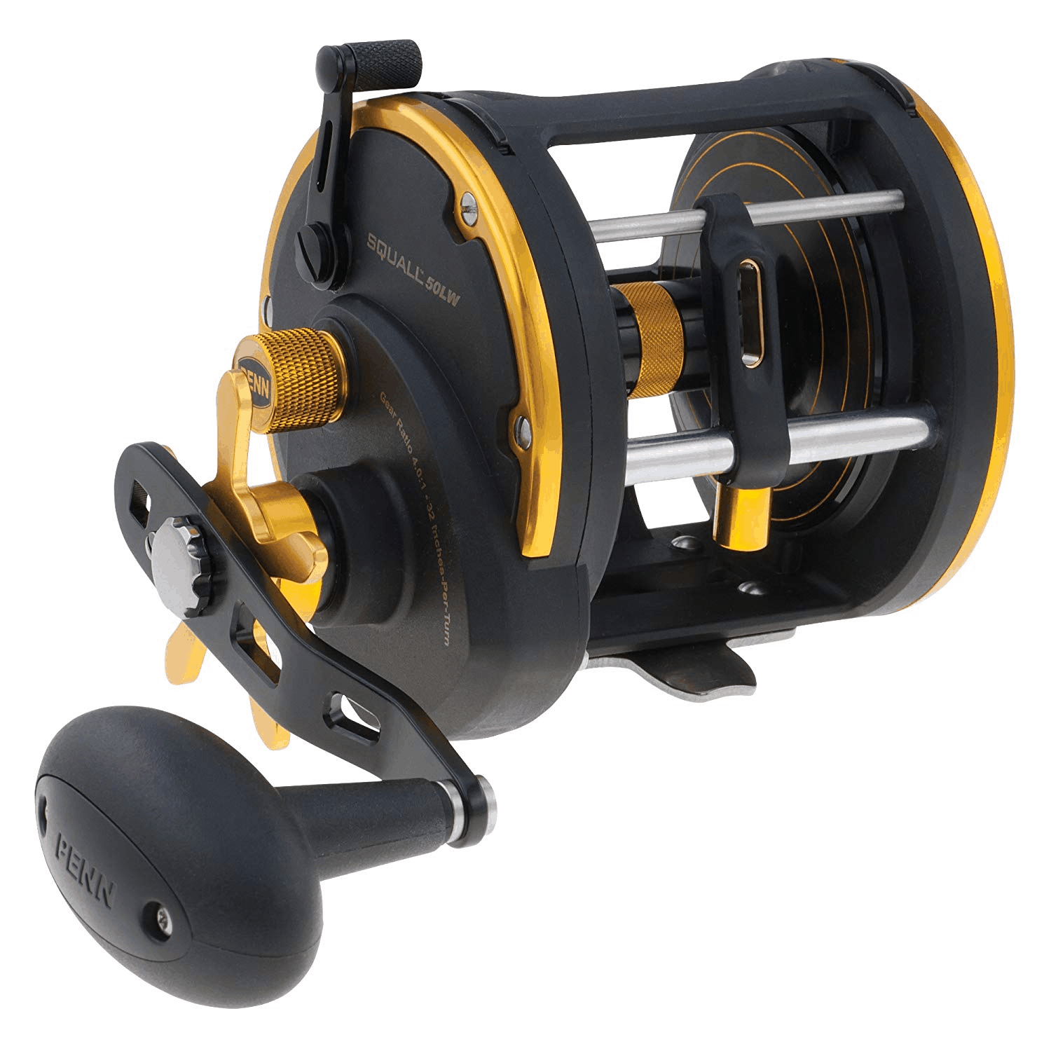 conventional and trolling reels
