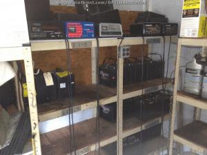 marine battery storage