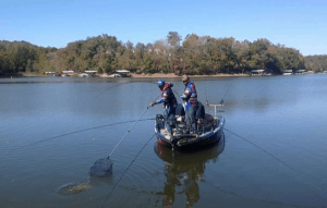 spider rigging trolling for crappie