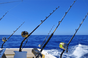 trolling rods sea fishing