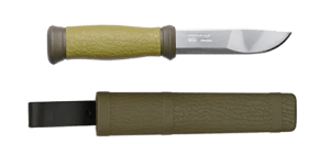 knife made with ruberrized plastic