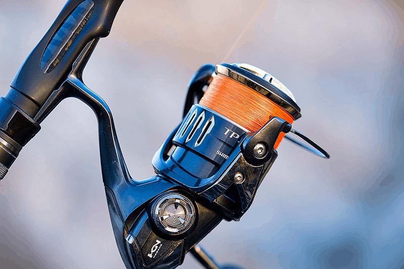 spool fishing line on spinning reel