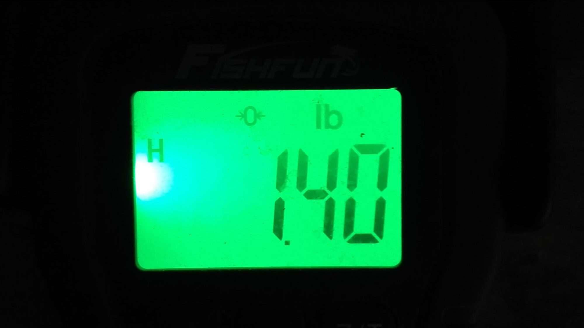 Drag 1.4 lb