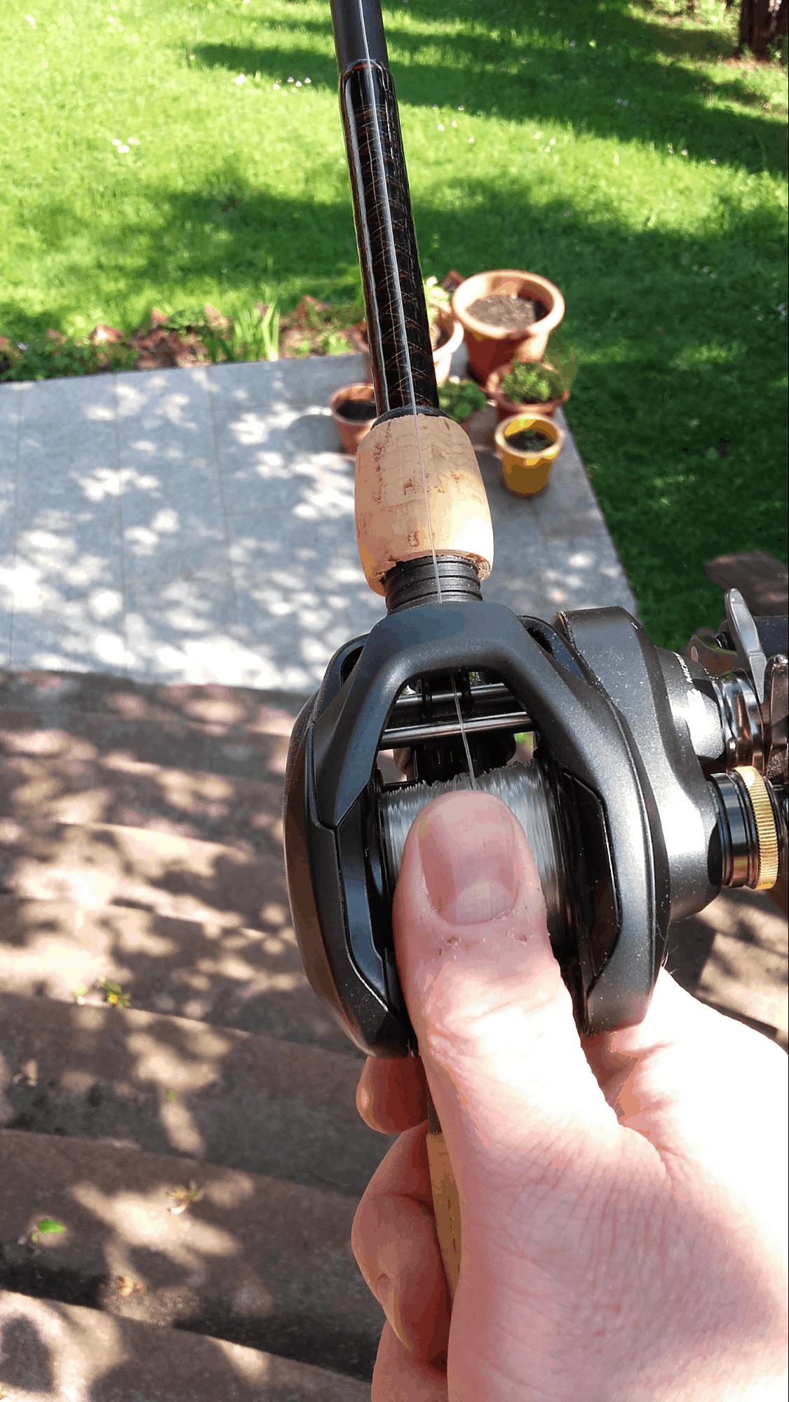 casting baitcasting reel