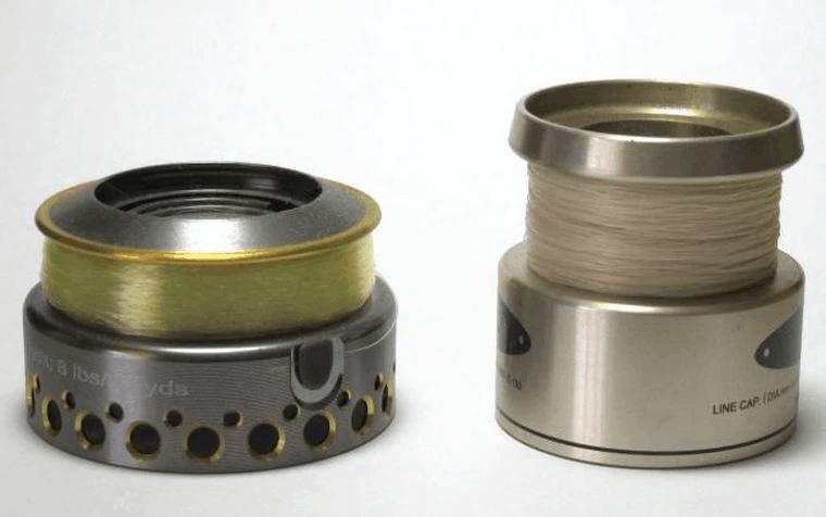 spinning reel spools