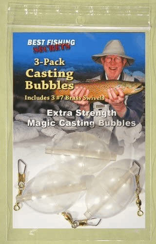 fly fishing casting bubbles