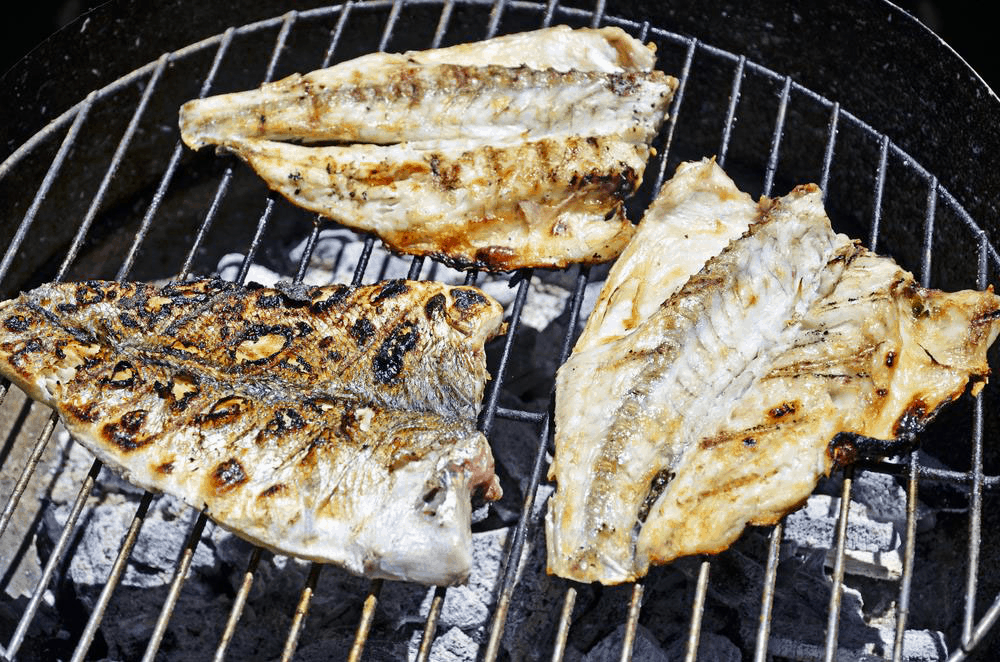 grilling bass
