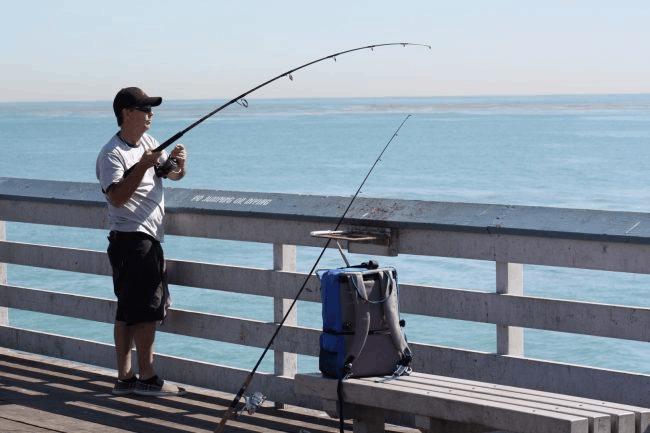 bottom fishing at pier