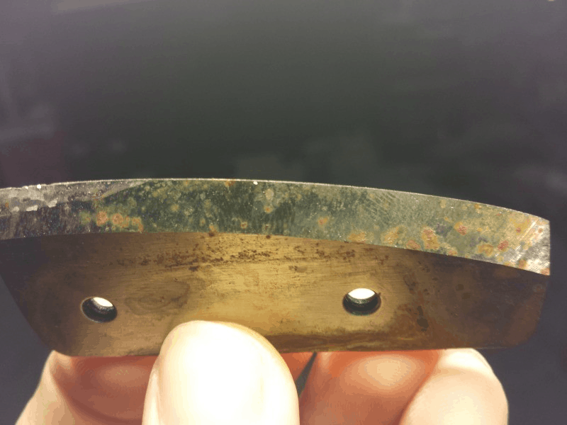 chipped ice auger blade