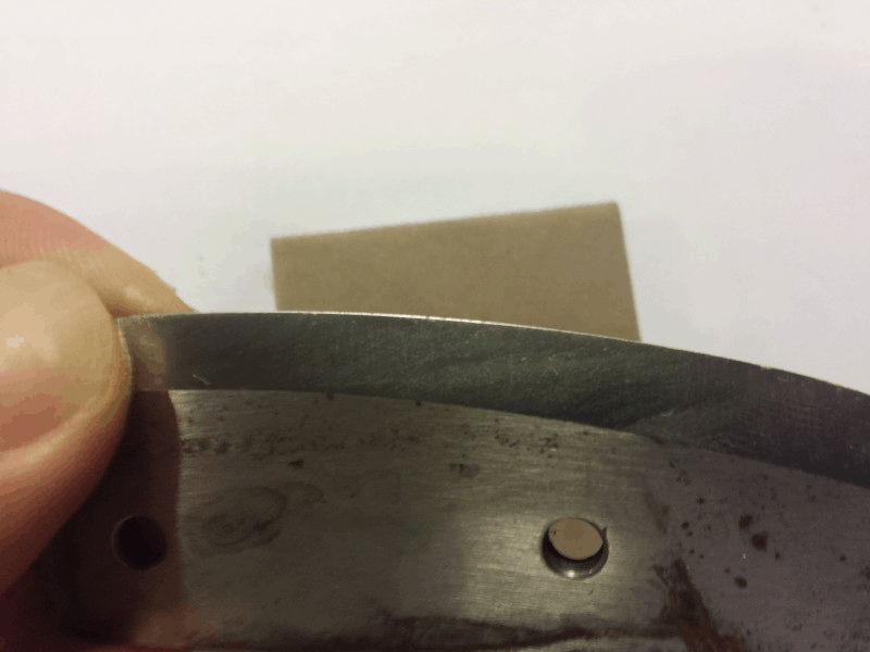 secondary bevel on ice auger blade