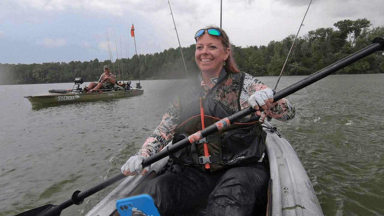 geared up kayak angler