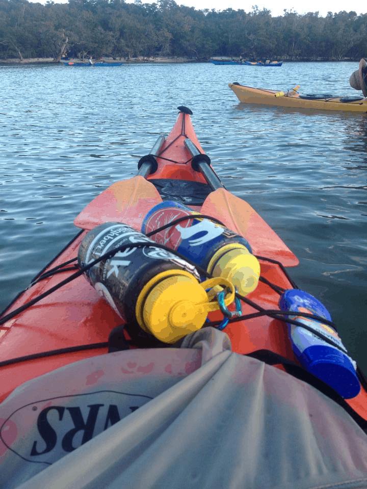 hydrate while kayak fishing