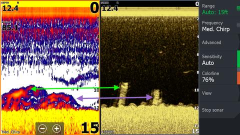 helix 5 vs piranhamax fish finder