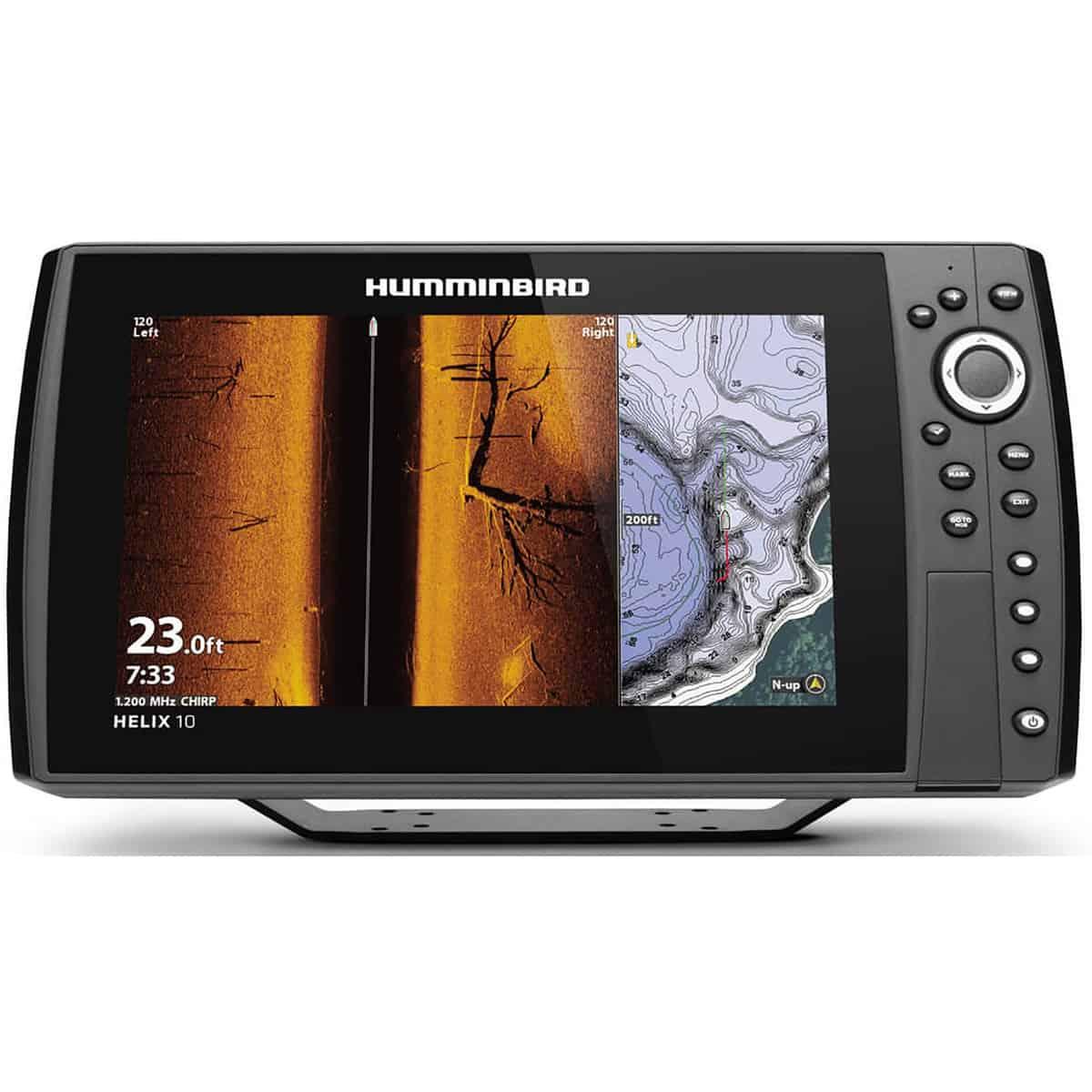 Humminbird Helix Chirp Mega SI plus GPS G4N Fish Finder